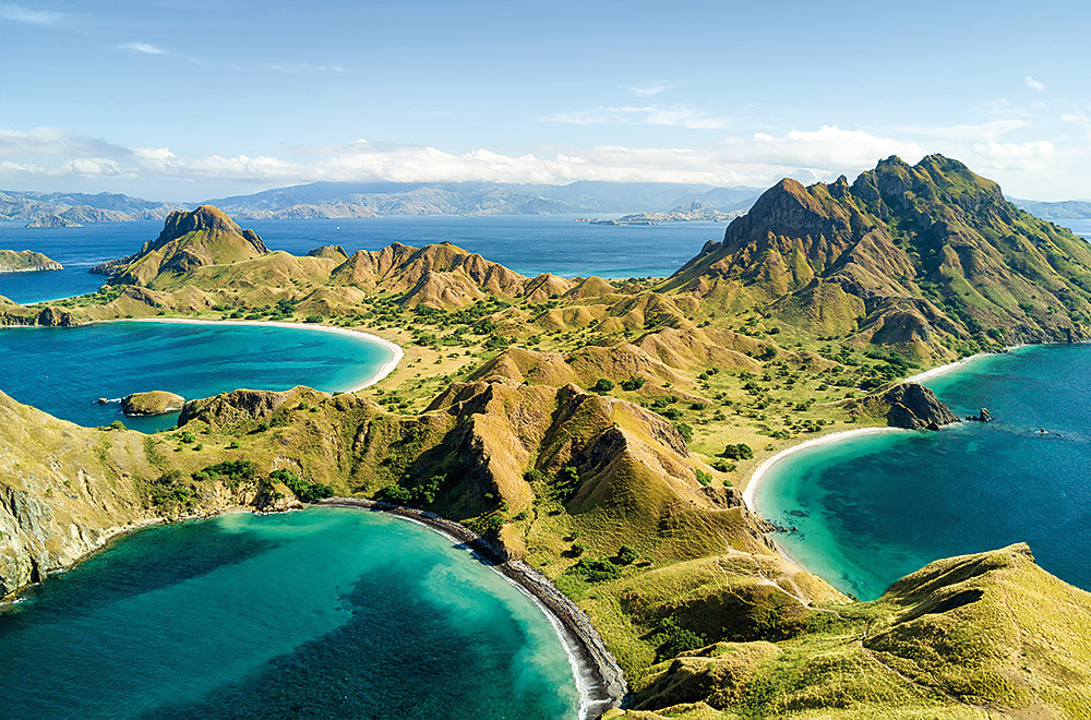 Palau Padar Island Indonesia